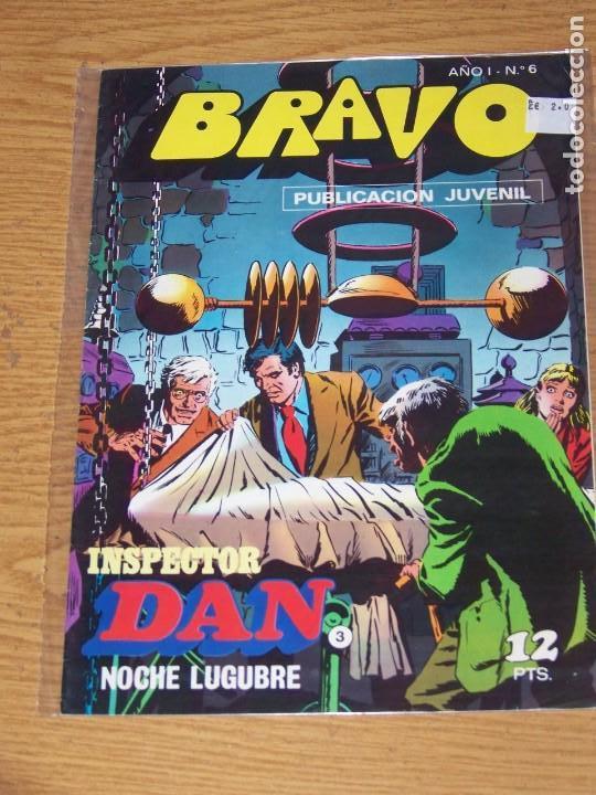 BRUGUERA BRAVO Nº 6 INSPECTOR DAN (Tebeos y Comics - Bruguera - Bravo)
