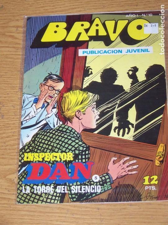 BRUGUERA BRAVO Nº 10 INSPECTOR DAN (Tebeos y Comics - Bruguera - Bravo)