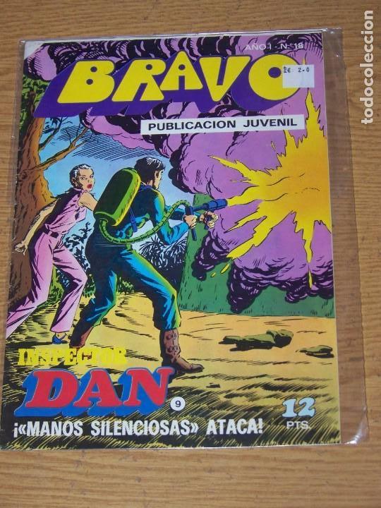 BRUGUERA BRAVO Nº 18 INSPECTOR DAN (Tebeos y Comics - Bruguera - Bravo)