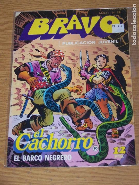 BRUGUERA BRAVO Nº 19 EL CACHORRO (Tebeos y Comics - Bruguera - Bravo)