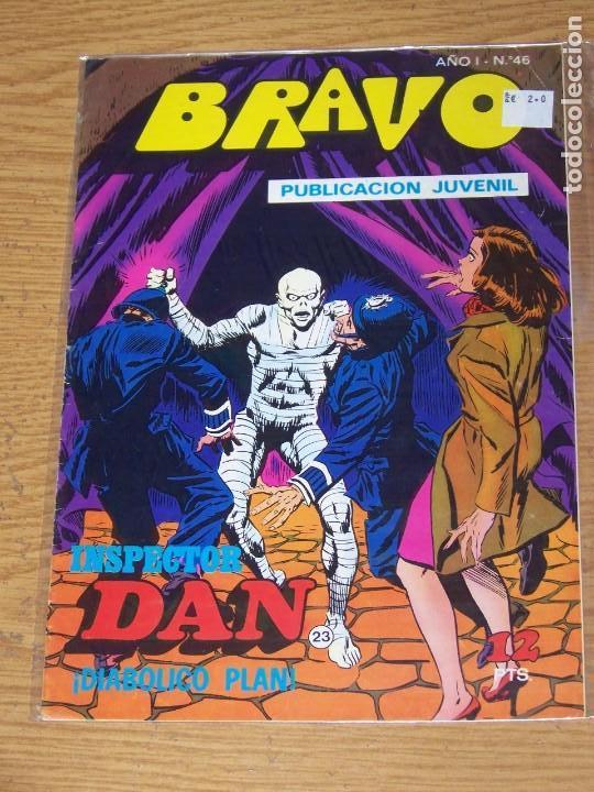 BRUGUERA BRAVO Nº 46 INSPECTOR DAN (Tebeos y Comics - Bruguera - Bravo)