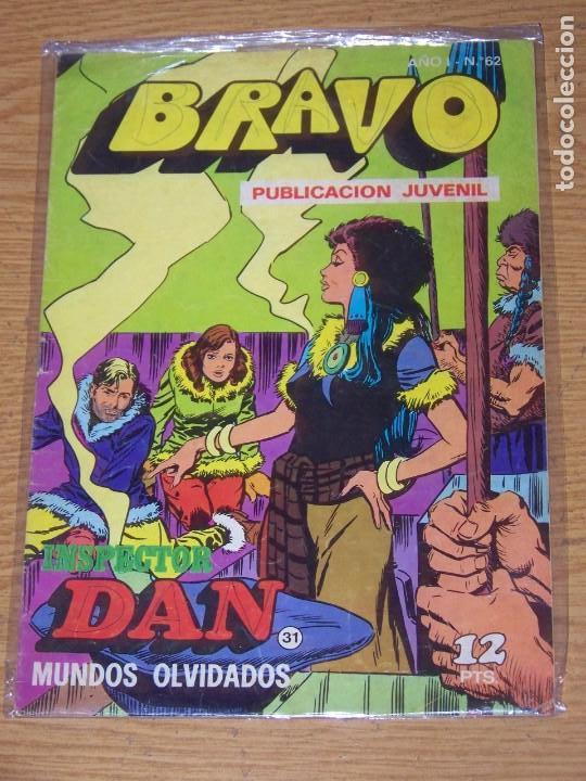 BRUGUERA BRAVO Nº 62 INSPECTOR DAN (Tebeos y Comics - Bruguera - Bravo)