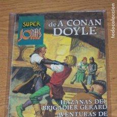 Tebeos: BRUGUERA SUPER JOYAS 57 A. CONAN DOYLE. Lote 169320872