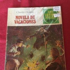 Tebeos: BRUGUERA JOYAS LITERARIAS SERIE VERDE JUVENILES NUMERO 215 NORMAL ESTADO. Lote 169365092