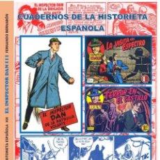 Tebeos: INSPECTOR DAN TOMO III. CUADERNOS DE LA HISTORIETA ESPAÑOLA XIX. AUTOR: FERNANDO BERNABÓN. Lote 169458540