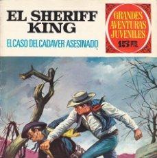 Tebeos: COMIC COLECCION EL SHERIFF KING Nº 38. Lote 169561160