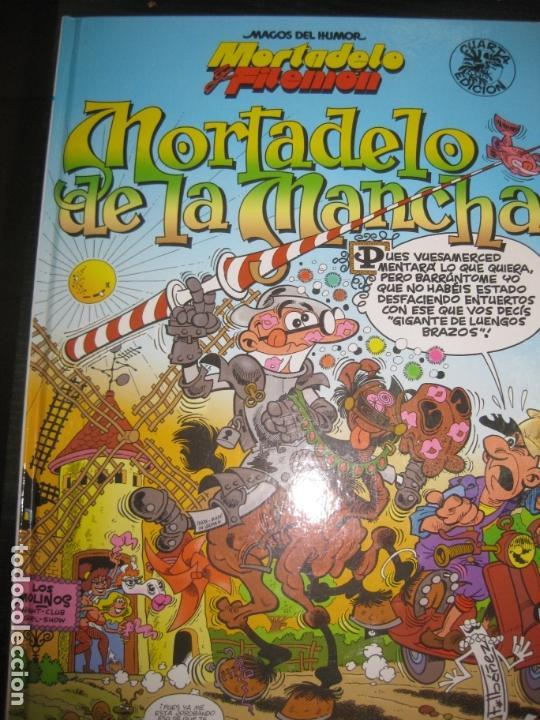 MAGOS DEL HUMOR. Nº 103 . MORTADELO Y FILEMON. MORTADELO DE LA MANCHA. EDICIONES B. (Tebeos y Comics - Bruguera - Mortadelo)