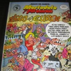 Tebeos: MAGOS DEL HUMOR. Nº 87 . MORTADELO Y FILEMON. LLEGO EL EURO. EDICIONES B. . Lote 169576096