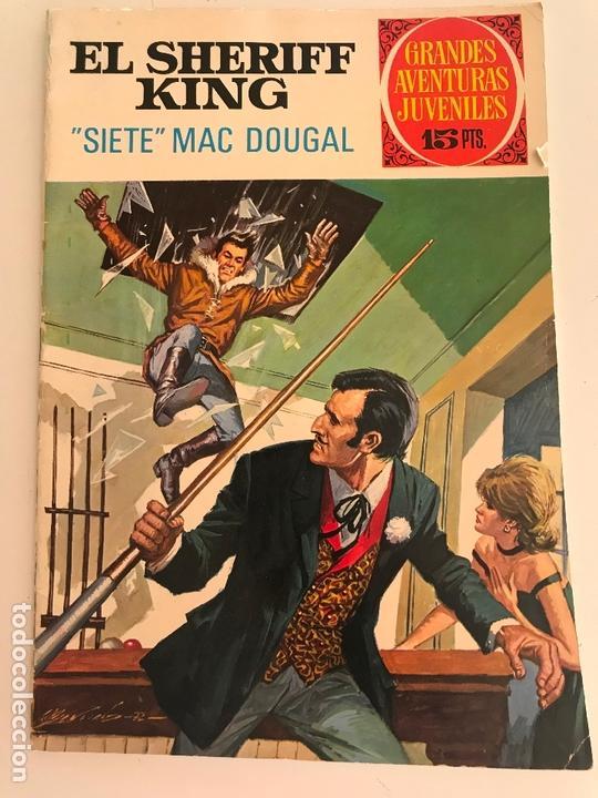 SHERIFF KING GRANDES AVENTURAS JUVENILES Nº 22 (Tebeos y Comics - Bruguera - Sheriff King)