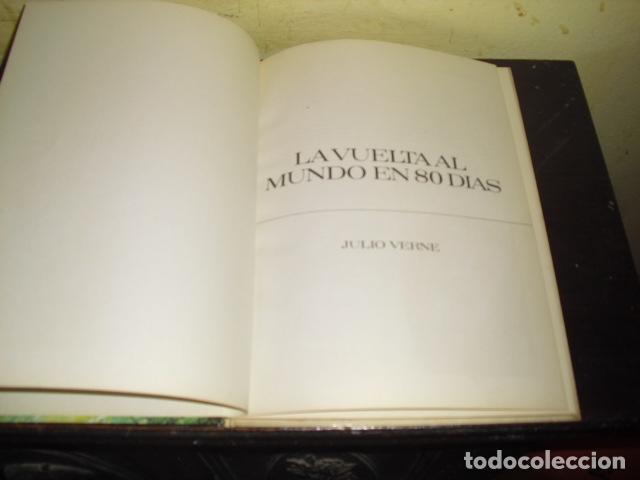 Tebeos: LA VUELTA AL MUNDO EN OCHENTA DIAS. JULIO VERNE . EDIT. BRUGUERA Nº 8 - - Foto 2 - 169688380