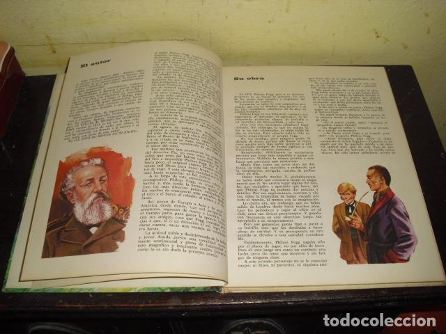 Tebeos: LA VUELTA AL MUNDO EN OCHENTA DIAS. JULIO VERNE . EDIT. BRUGUERA Nº 8 - - Foto 3 - 169688380