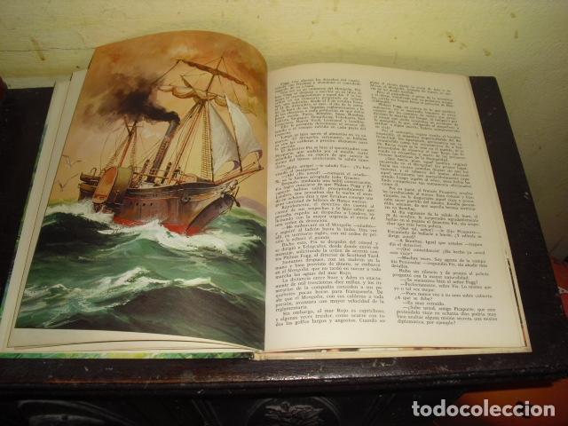 Tebeos: LA VUELTA AL MUNDO EN OCHENTA DIAS. JULIO VERNE . EDIT. BRUGUERA Nº 8 - - Foto 4 - 169688380