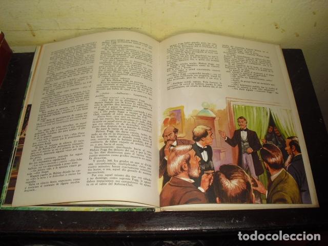 Tebeos: LA VUELTA AL MUNDO EN OCHENTA DIAS. JULIO VERNE . EDIT. BRUGUERA Nº 8 - - Foto 5 - 169688380