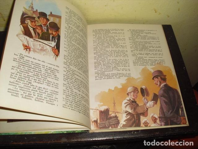 Tebeos: LA VUELTA AL MUNDO EN OCHENTA DIAS. JULIO VERNE . EDIT. BRUGUERA Nº 8 - - Foto 6 - 169688380
