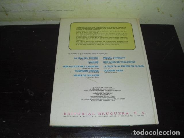 Tebeos: LA VUELTA AL MUNDO EN OCHENTA DIAS. JULIO VERNE . EDIT. BRUGUERA Nº 8 - - Foto 8 - 169688380