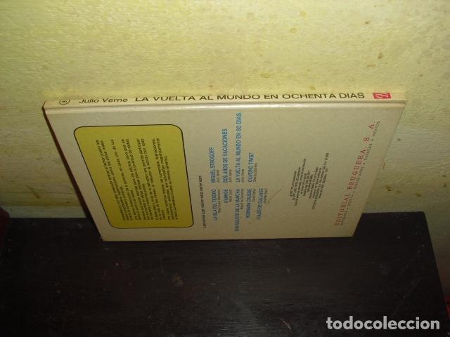 Tebeos: LA VUELTA AL MUNDO EN OCHENTA DIAS. JULIO VERNE . EDIT. BRUGUERA Nº 8 - - Foto 9 - 169688380