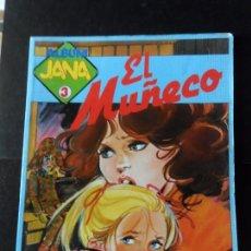 Livros de Banda Desenhada: ALBUM JANA Nº 3. EL MUÑECO POR PURITA CAMPOS. SARPE 1983. Lote 169697452