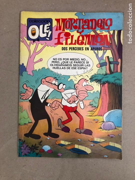 MORTADELO Y FILEMÓN N° 79 (BRUGUERA, 1973). DOS PERCEBES EN APUROS. COLECCIÓN OLÉ! (Tebeos y Comics - Bruguera - Ole)