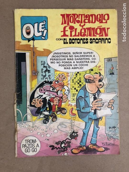 MORTADELO Y FILEMÓN CON EL BOTONES SACARINO N° 249 (BRUGUERA, 1982). COLECCIÓN OLÉ! (1ªEDICIÓN) (Tebeos y Comics - Bruguera - Ole)