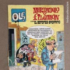 Tebeos: MORTADELO Y FILEMÓN CON EL BOTONES SACARINO N° 249 (BRUGUERA, 1982). COLECCIÓN OLÉ! (1ªEDICIÓN). Lote 169705714