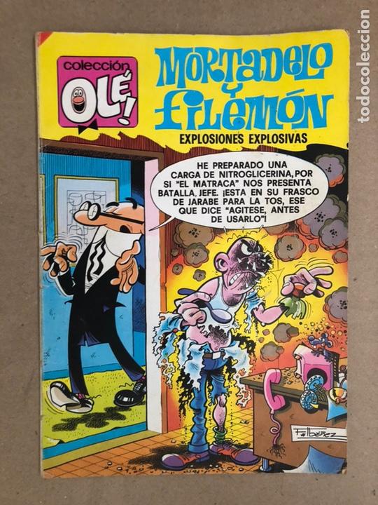 MORTADELO Y FILEMÓN N° 152 (BRUGUERA, 1985). EXPLOSIONES EXPLOSIVAS. COLECCIÓN OLÉ! (Tebeos y Comics - Bruguera - Ole)