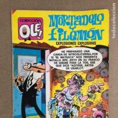 Tebeos: MORTADELO Y FILEMÓN N° 152 (BRUGUERA, 1985). EXPLOSIONES EXPLOSIVAS. COLECCIÓN OLÉ!. Lote 169705834