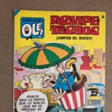 Tebeos: ROMPETECHOS N° 36 (BRUGUERA, 1986). ¡CAMPEÓN AL DESPISTE!. COLECCIÓN OLÉ!. Lote 169707904