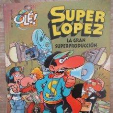 Tebeos: SUPER LOPEZ Nº 9 - LA GRAN SUPERPRODUCCION - 3ª EDICION - COLECCIÓN OLÉ - EDICIONES B. Lote 169729524