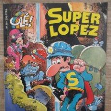 Tebeos: SUPER LOPEZ Nº 10 - AL CENTRO DE LA TIERRA - 1ª EDICION - COLECCIÓN OLÉ - EDICIONES B. Lote 169729608