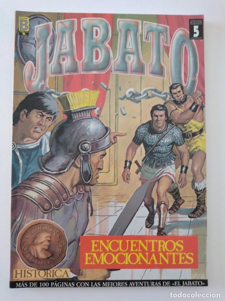 EL JABATO SELECCIÓN EDICIÓN HISTÓRICA NÚMERO 5 RETAPADO (Tebeos y Comics - Bruguera - Jabato)