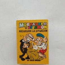Tebeos: MINI INFANCIA MORTADELO Y FILEMON 1 EDICION 1971 BRUGUERA. Lote 169813245
