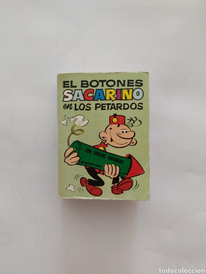 MINI INFANCIA EL BOTONES SACARINO 1 EDICION 1972 BRUGUERA (Tebeos y Comics - Bruguera - Otros)