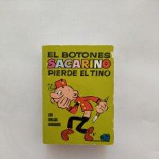 Tebeos: MINI INFANCIA EL BOTONES SACARINO 1 EDICION 1972. Lote 169817369