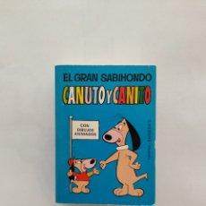 Tebeos: MINI INFANCIA CANUTO Y CANITO 1 EDICION 1970. Lote 169817573