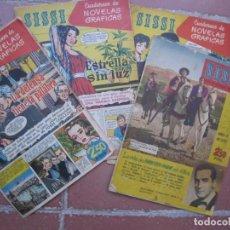 Tebeos: LOTE 4 TITULOS DE TEBEOS COMICS COLECCION SISSI NUMEROS 12 19 26 28. Lote 169851492