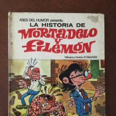 Tebeos: MORTADELO Y FILEMÓN - LA HISTORIA DE MORTADELO Y FILEMÓN. Lote 170017030
