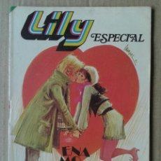 Tebeos: LILY ESPECIAL N°16: ENAMORADOS (BRUGUERA, 1981). 100 PÁGINAS A COLOR.. Lote 170020118
