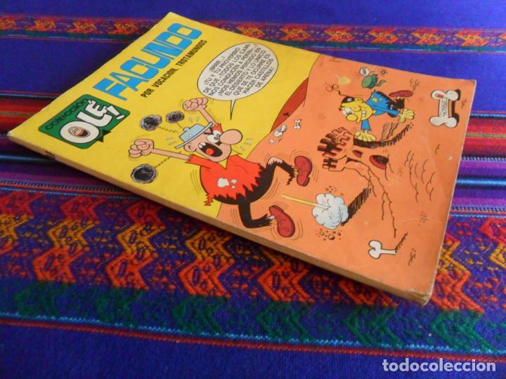 OLÉ Nº 37 FACUNDO. BRUGUERA 1971 Nº LOMO 40 PTS. POR VOCACIÓN, TROTAMUNDOS. RARO. (Tebeos y Comics - Bruguera - Ole)