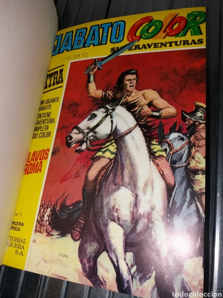 JABATO COLOR - BRUGUERA - DEL 1 AL 12 ENCUADERNADOS EN UN TOMO (Tebeos y Comics - Bruguera - Jabato)