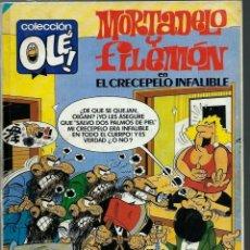Tebeos: OLE Nº 308 - MORTADELO Y FILEMON - EL CRECEPELO INFALIBLE - BRUGUERA 1985 - ULTIMOS NUMEROS, DIFICIL. Lote 170111456