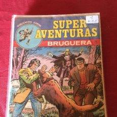 Tebeos: BRUGUERA SUPER AVENTURAS COMPLETA 8 NUMEROS BUEN ESTADO . Lote 170114228