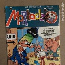 Tebeos: MORTADELO N° 276 (BRUGUERA 1986).. Lote 170132300