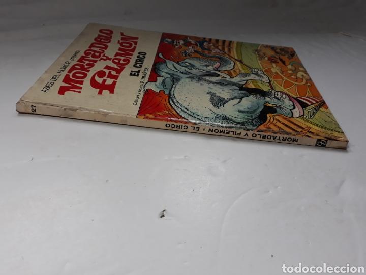 Tebeos: MORTADELO Y FILEMON. EL CIRCO Nº 27 ASES DEL HUMOR. 1973 - Foto 2 - 29814848