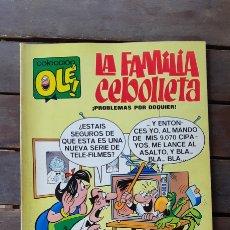 Tebeos: OLÉ N°4 1971 LA FAMILIA CEBOLLETA PROBLEMAS POR DOQUIER. Lote 170215653