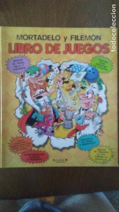 Tebeos: 6 CUADERNOS PARA PINTAR MORTADELO + LIBRO DE JUEGOS - Foto 2 - 170278476