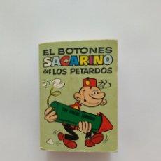 Tebeos: MINI INFANCIA EL BOTONES SACARINO 1ª EDICION 1972 BRUGUERA. Lote 170279945
