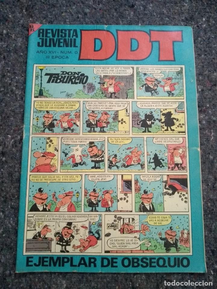 DDT Nº 0 - EJEMPLAR DE OBSEQUIO - III ÉPOCA - MUY BUEN ESTADO (Tebeos y Comics - Bruguera - DDT)