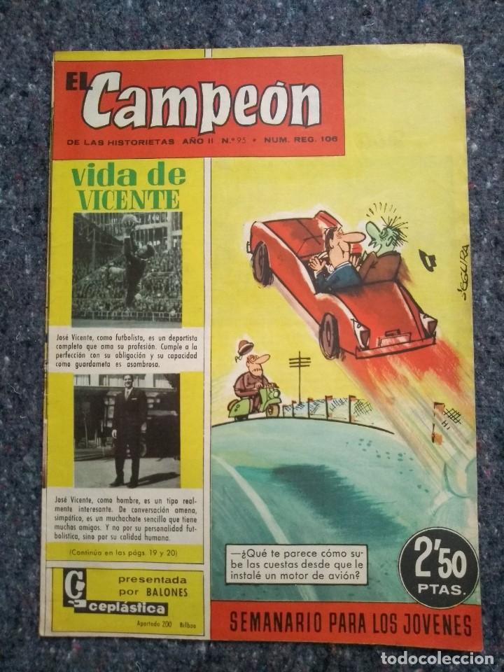 EL CAMPEÓN Nº 95 - D5 (Tebeos y Comics - Bruguera - Cuadernillos Varios)