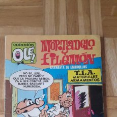 Tebeos: COMIC COLECCION OLE 3ª EDICION MORTADELO Y FILEMON CATARATA DE EMBROLLOS Nº 100. Lote 170339344