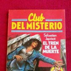 Tebeos: CLUB DEL MISTERIO. N° 31. SÉBASTIEN JAPRISOT. EL TREN DE LA MUERTE. . Lote 170352828